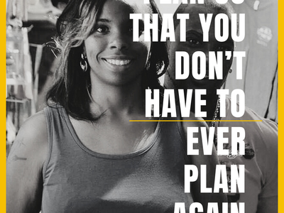 Plan So That You Don't Have  To Ever Plan Again