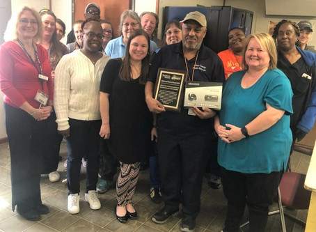 Rock Communications honors area school bus drivers for Going 'Above & Beyond'