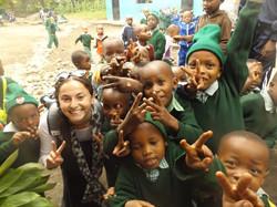Haley in Tanzania