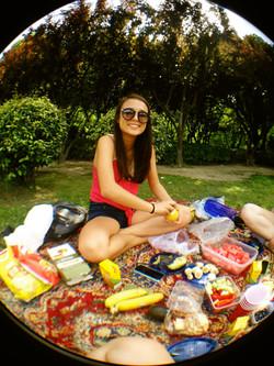 Carolyn in China