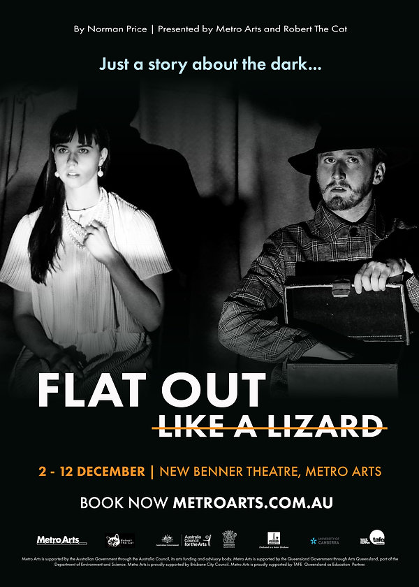 Flat Out Like A Lizard Poster ALT HEREO_
