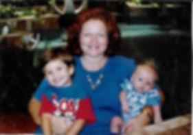 Judy and the boys 1996.jpg