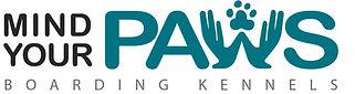 PAWS logo NEW BLUE FINAL Boarding Kennel