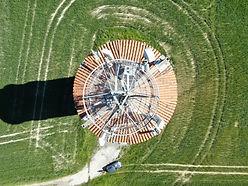 inspection antennes telecom par drone