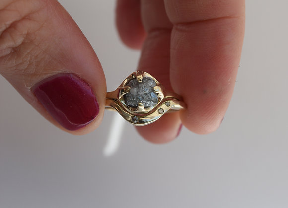 Raw Diamond Set