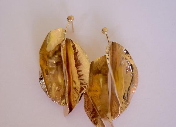 Valentia Gold Earrings