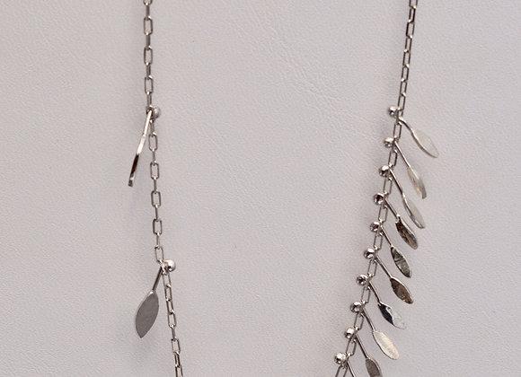 Asymmetrical Fringe Necklace