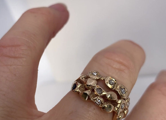 Gold Rockery Ring