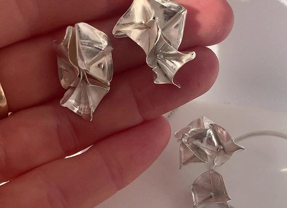 Viola Fold Form Earrings