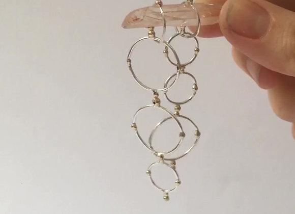 Celestial Hoop Earrings
