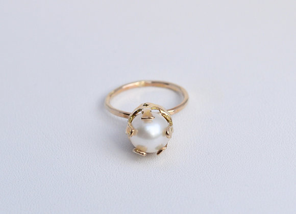Pearl Crown Ring