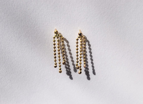 Sparkler Gold Earrings