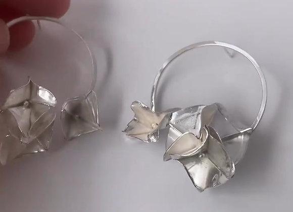 Alyssum Fold Form Earrings