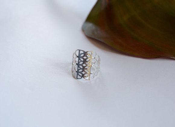 Gaia Silver Ring