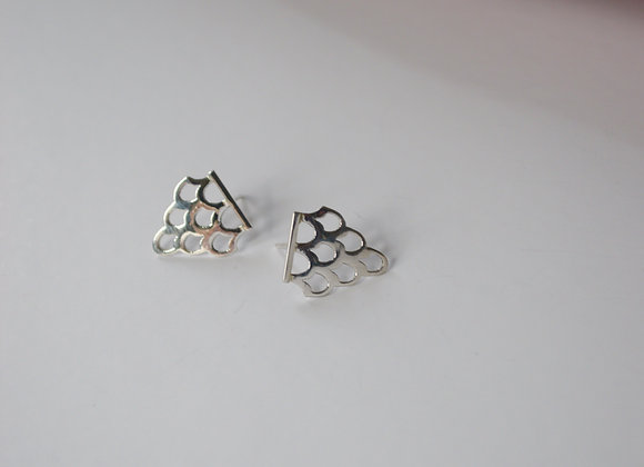 Ai Silver Earrings