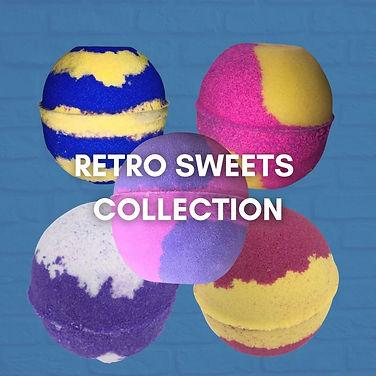 Retro Sweets Bath Bombs