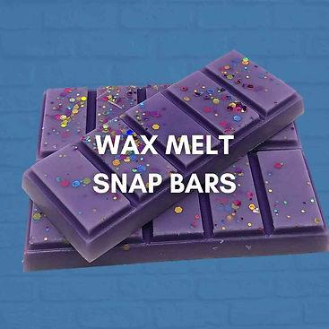 wax melt snap bars
