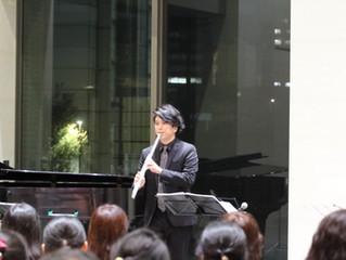 「蘇る幻の笛ーオークラウローはるかな旅路」の発売記念コンサート①