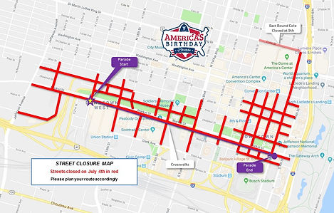 Parade Street Closures