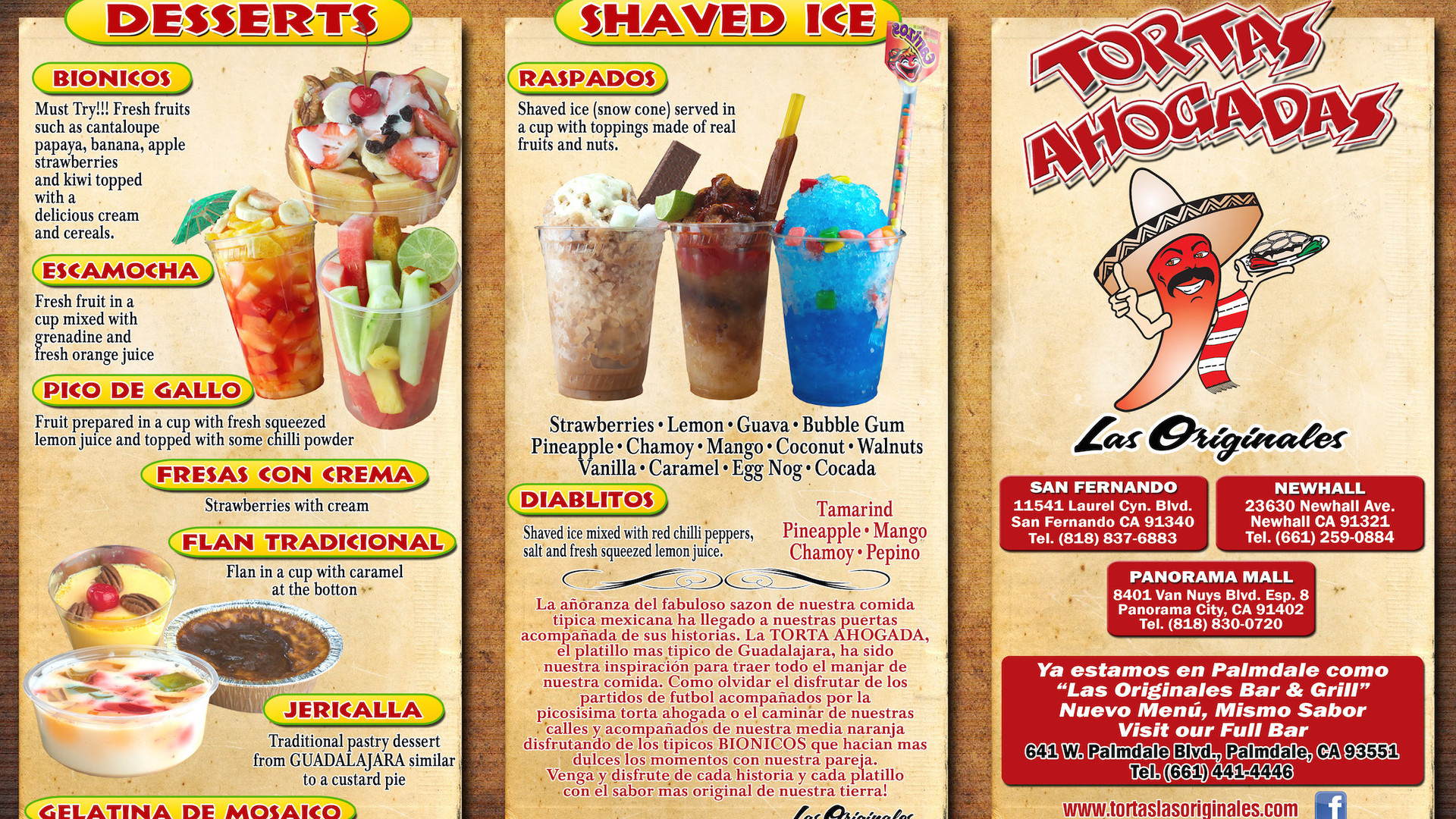 TOGO MENU FRONT LAUREL 2017.jpg