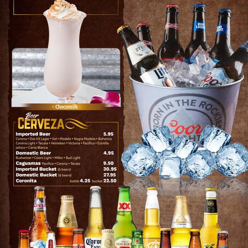 Drinks and Cervecitas