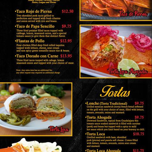 Guadalajara Specials - Tortas