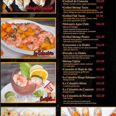 Mariscos - Seafood