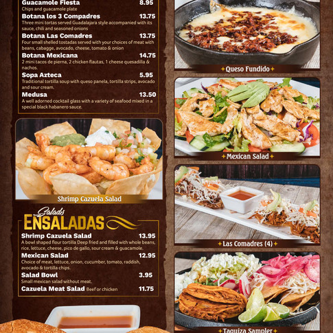 Appetizers and Salads