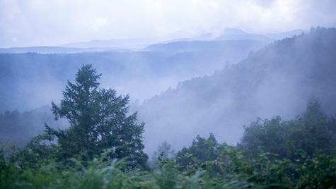 霧の八峰  小海 長野