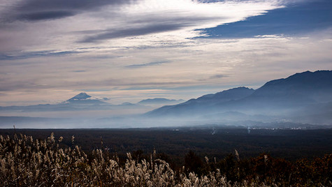 遥かなる頂  富士見高原 長野