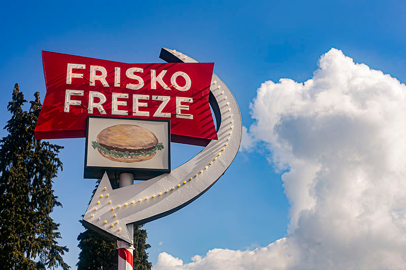Frisko Freeze Tacoma,WA