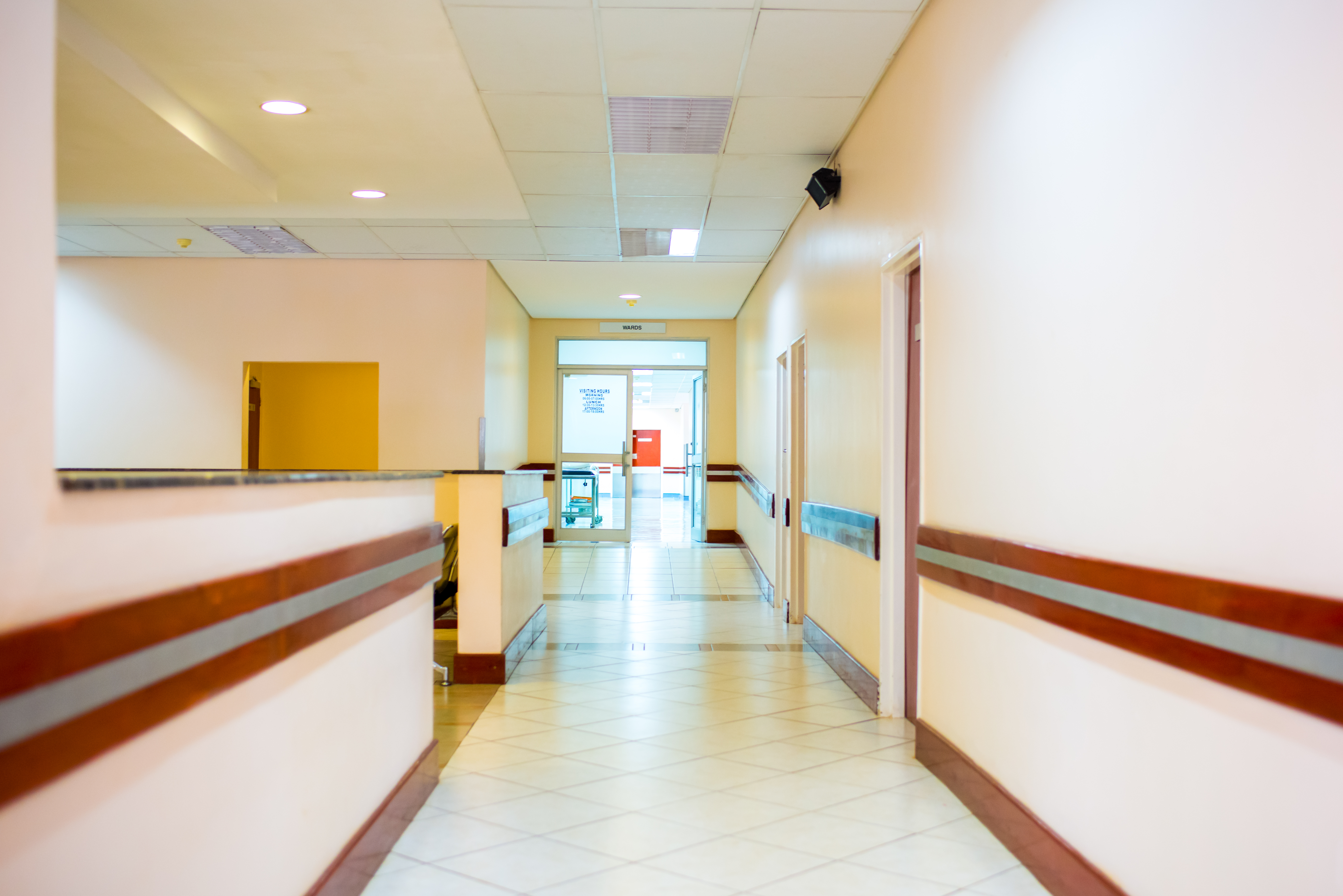 New In- and Out-Patients'Wing