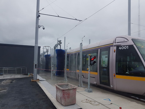 Luas wash Dublin by Gough Brothers
