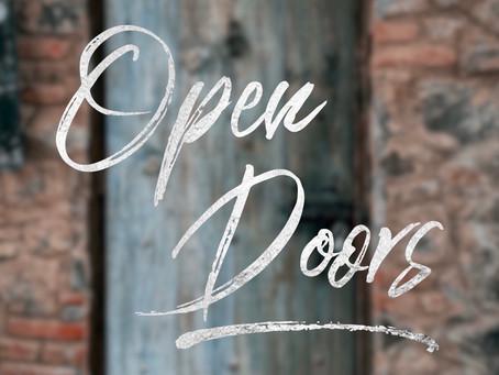 Doors Open... Doors Close