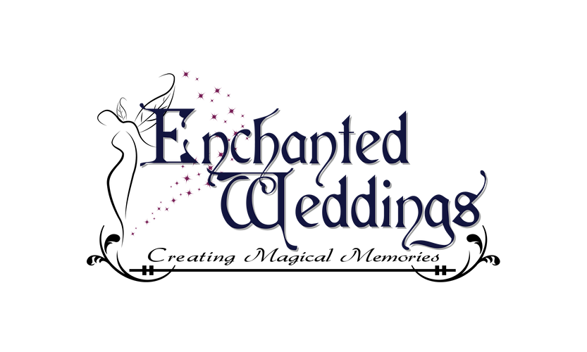 Enchanted wedding logo