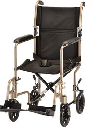 Nova 319C Champagne Transport Chair Steel