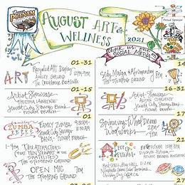 AUGUST - Arts & Wellness