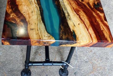 Tamarind & Resin Table
