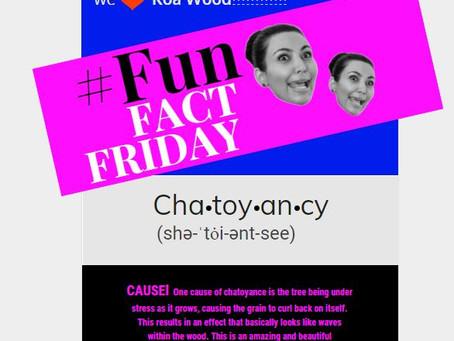 #FUN FACT FRIDAY!
