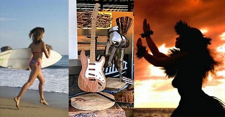State Symbols: Surfing, Music, Dancing
