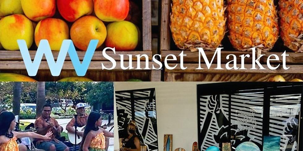 Sunset Market at Wailea Village