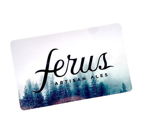 Ferus Gift Card