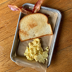 1 Egg, Bacon, and Toast