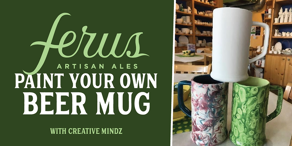 Paint Your Own Beer Mug