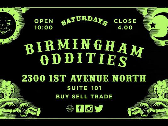 Birmingham Oddities Now Sponsoring the Punk Rock Flea