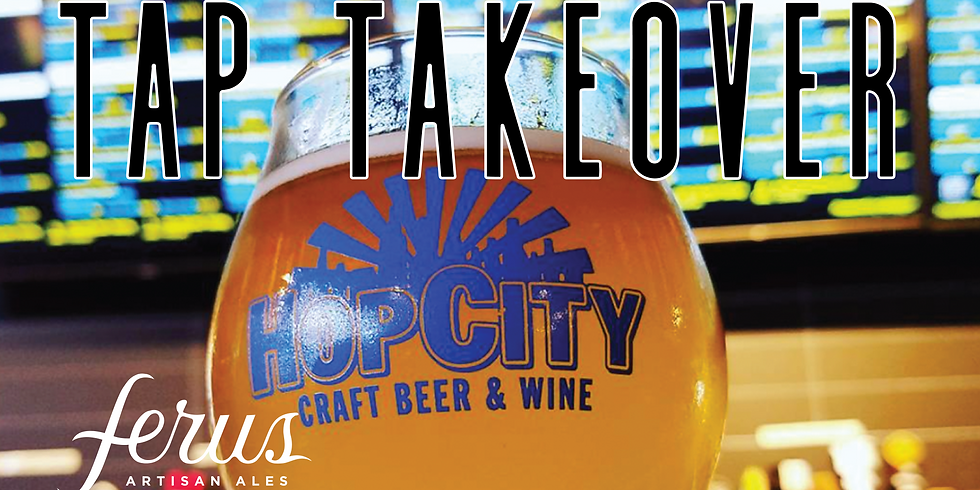 Tap Takeover at Hop City