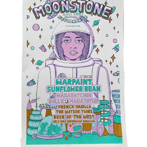 Official 2019 Moonstone Poster