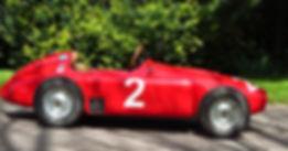 Reproducción del Ferrari FE D50