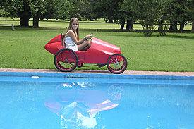 First pedal car