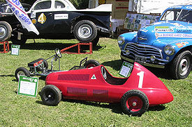 The first pedal car at Autoclásica Car exhibition
